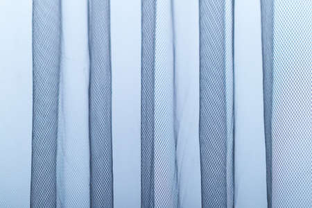 thin cloth background to cover the window during the day Banco de Imagens