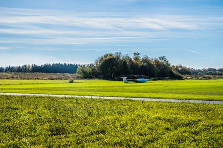 aerospace: Aerospace Voeltendorf in autumn