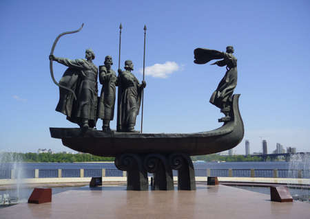 founders: Kiev, Monument of founders
