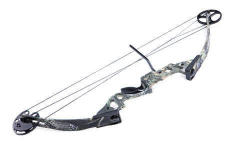 sighting: Isolated sport bow Stock Photo