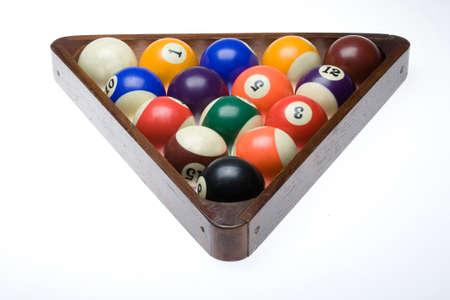 poolball: Coloured Billiard Balls