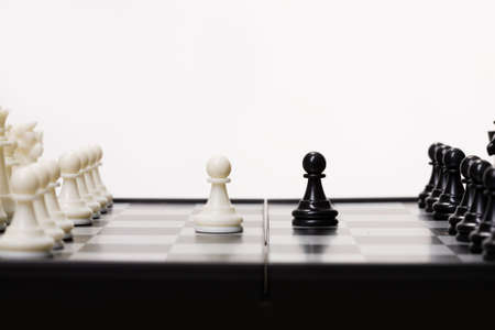 battling: Chess on isolated background