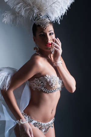 Young Beautiful Woman Reklamní fotografie