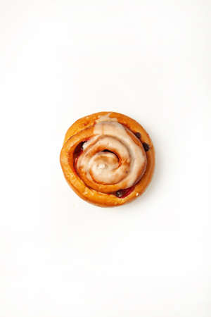 Isolated pastry on a studio background