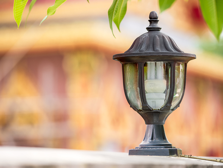 The electrical lamp for usable and outdoor decorate Stock Photo - 28223655