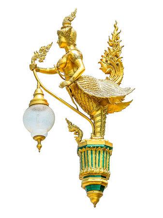 Thai art lamp for decorate at public temple Stock Photo - 28223736