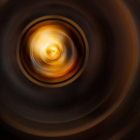 Softness circle dark brown abstract background