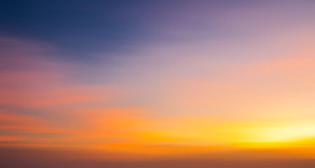 softness: Abstract softness from sky in sunset time