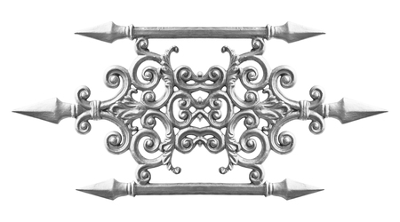 alloy: Pattern of the silver alloy isolated on white