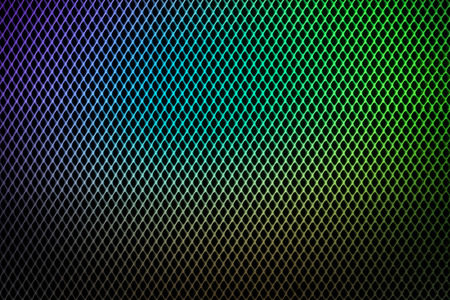 grate: Pattern of the colorful grate metallic for background and texture