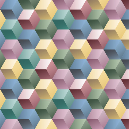 Square box color background, vector illustration graphic pattern