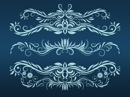 Vintage pattern element, vector illustration graphic  イラスト・ベクター素材