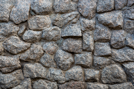 Stone wall for old background and texture material