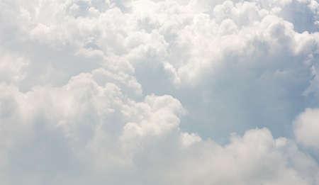 Beautiful motion blur cloud shape on blue sky