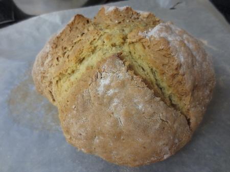 leavening: Irish soda bread Stock Photo