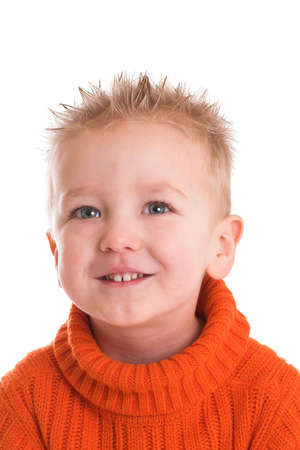 Cute young kid with a happy smile Stock Photo - 837446