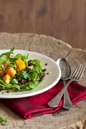 Roasted pumpkin salad Stock Photo - 11112684