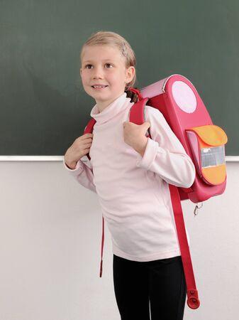 mochila escolar: Primer día en la escuela