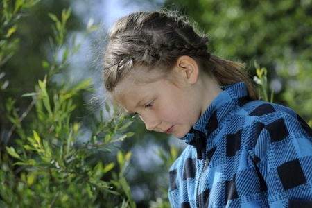 lost in thought: Little Girl Lost in Thought