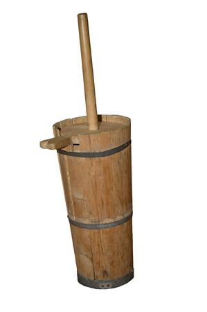 past production: uas wood butter churn
