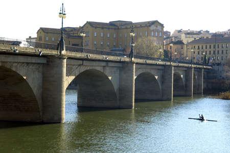 river ebro in logroño (La Rioja)