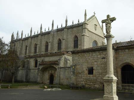 miraflores: la cartuja de miraflores monastery in Burgos Stock Photo