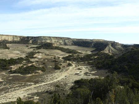 navarre: desert of bardenas reales in navarre