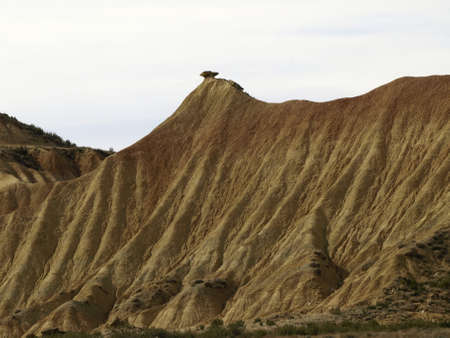 desert of bardenas reales in navarre photo