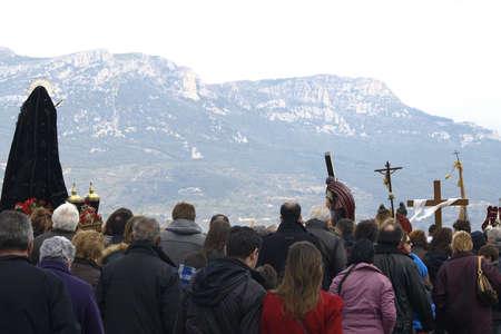 crucifiction: picaos in San Vicente de la Sonsierra Editorial