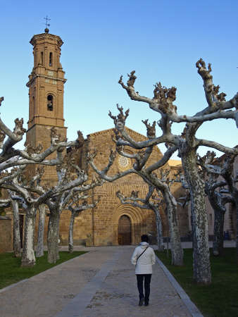 Monastery of Veruela in Zaragoza  Aragon  photo