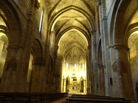 The church of the monastery of Veruela in Aragon photo