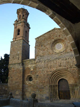 Monastery of Veruela in Zaragoza  Aragon  Stock Photo - 13765217
