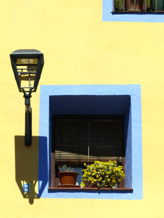colorful house in the village of Tarazona  Aragon