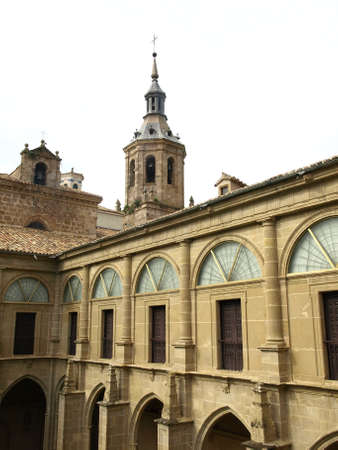 millan: the monastery of Yuso, the place where spanish language was born Stock Photo