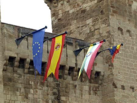 The castle of Aguasmansas in Agoncillo  La Rioja Stock Photo - 14398985