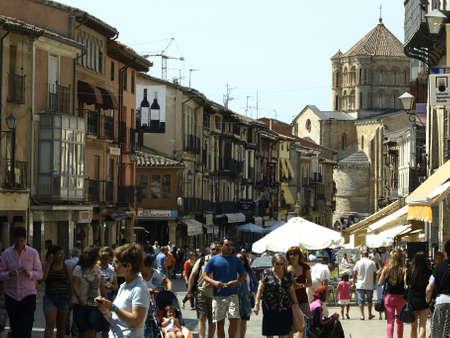zamora: main street in Toro  Zamora