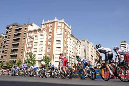 la vuelta a españa in Logroño Редакционное