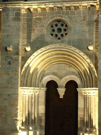 zamora: santiago del burgo romanesque church in zamora