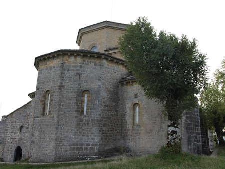 navarre: the hermitage of San Miguel de aralar in Navarre