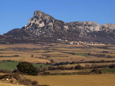 alava: leon dormido mountain in alava