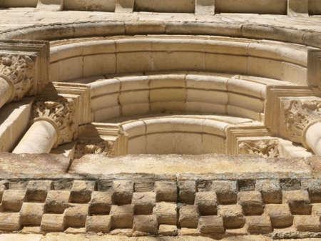 alava: san juan de markinez old romanesque church in Alava (Spain)