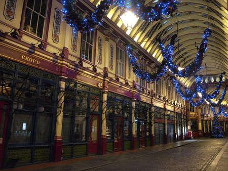 leadenhall market in London - UK Stock Photo - 18079563