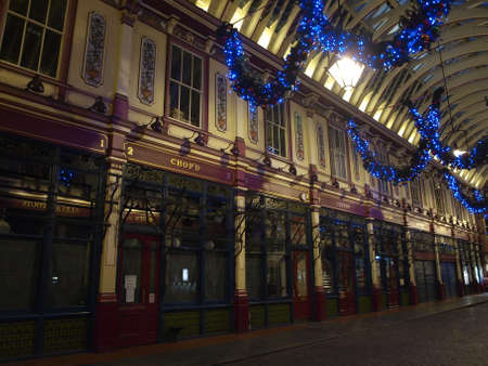 leadenhall market in London - UK