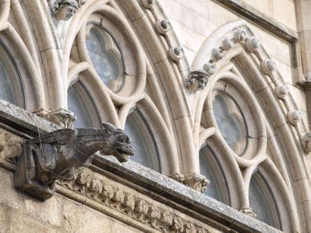 Gargoyles In The Cathedral Of Leon Castilla Photo