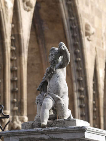 gargouilles: gargouilles de la cath�drale de Leon en Castille