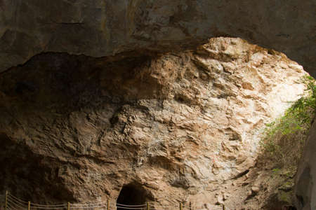 plumb: the old mines of plumb in jubera  La Rioja  Spain