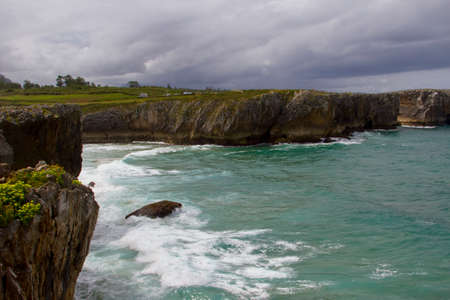 santander: the coast of the cantabric sea in Santander