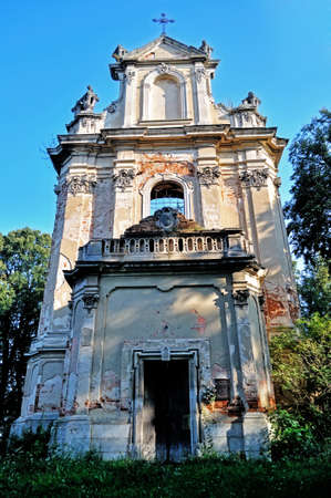 mediaval: Abandoned church ruins