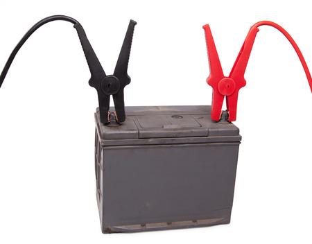 12v: Charging an old car battery. voltage measurement