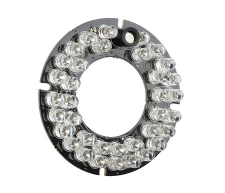 leds: infrared LEDs on the board, spare part for CCTV cameras
